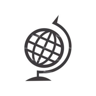 Science Vector Set 2 Vector Globe Clip Art - SVG & PNG vector