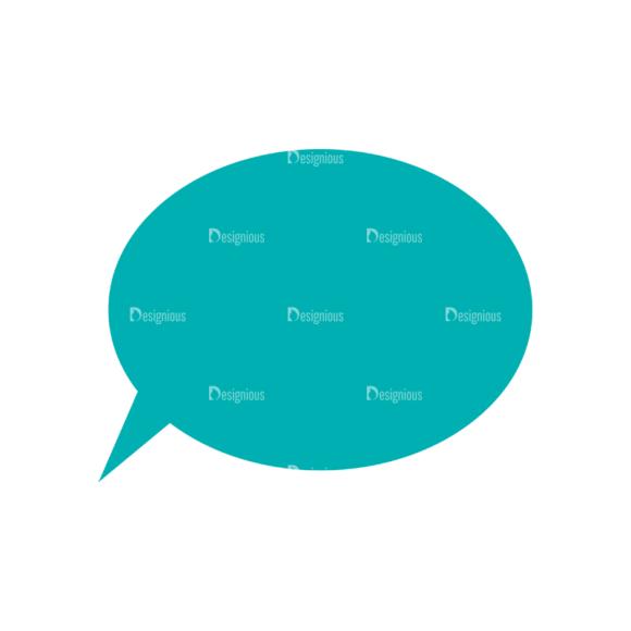 Science Vector Set 2 Vector Speech Bubbles Clip Art - SVG & PNG vector