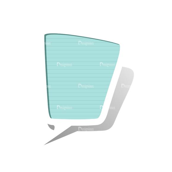 Scrapbook Speech Bubles Vector Speech Bubbles 01 Clip Art - SVG & PNG vector
