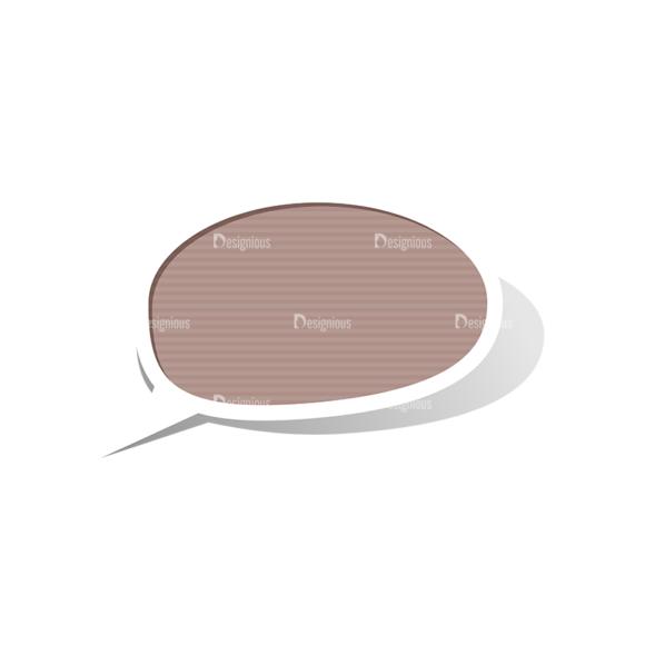 Scrapbook Speech Bubles Vector Speech Bubbles 02 Clip Art - SVG & PNG vector