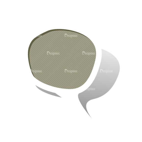 Scrapbook Speech Bubles Vector Speech Bubbles 05 Clip Art - SVG & PNG vector