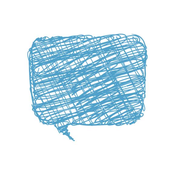 Scribbled Speech Bubbles Vector Speech Bubble 02 scribbled speech bubbles vector Speech bubble 02