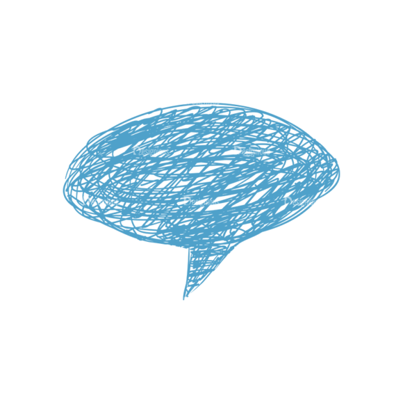 Scribbled Speech Bubbles Vector Speech Bubble 03 scribbled speech bubbles vector Speech bubble 03