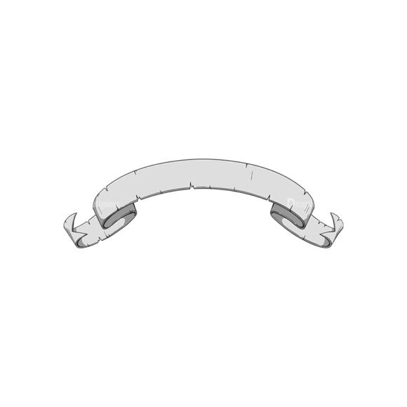 Scrolls Pack 10 2 Clip Art - SVG & PNG vector