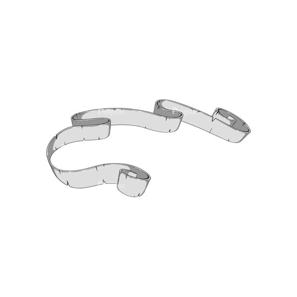 Scrolls Pack 11 8 Clip Art - SVG & PNG vector