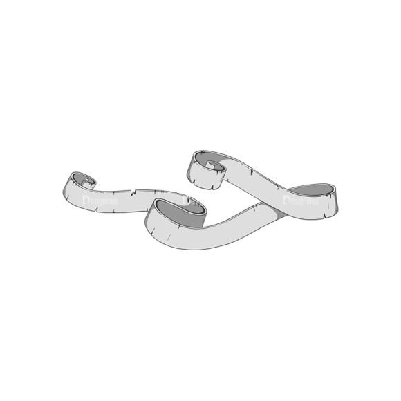 Scrolls Pack 11 9 Clip Art - SVG & PNG vector