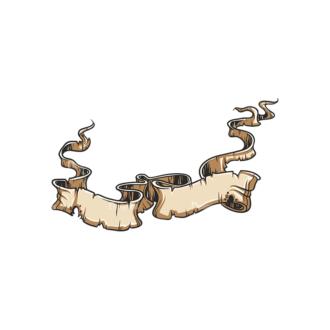 Scrolls Pack 15 2 Clip Art - SVG & PNG vector