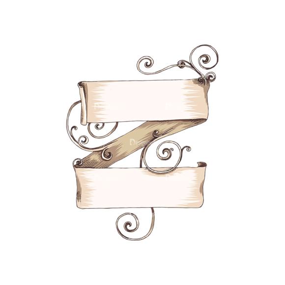 Scrolls Pack 16 5 Clip Art - SVG & PNG vector