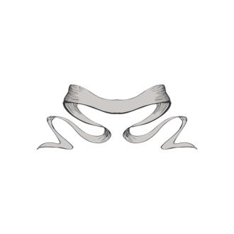 Scrolls Pack 3 6 Clip Art - SVG & PNG vector