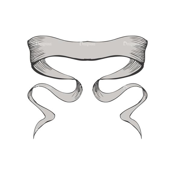 Scrolls Pack 4 2 Clip Art - SVG & PNG vector