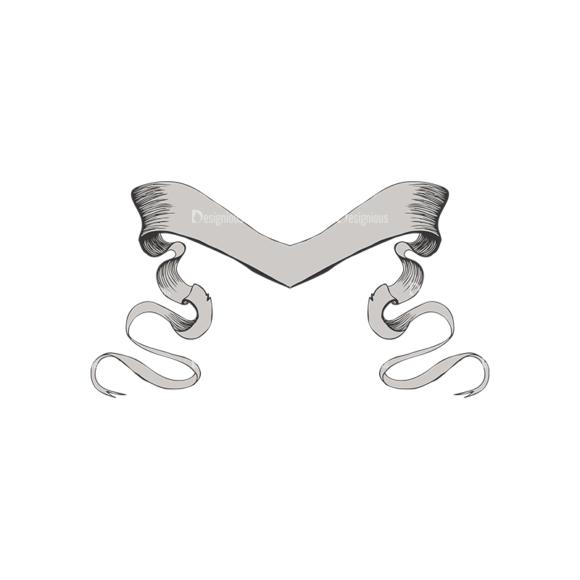 Scrolls Pack 4 6 Clip Art - SVG & PNG vector