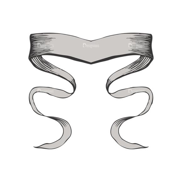 Scrolls Pack 4 7 Clip Art - SVG & PNG vector