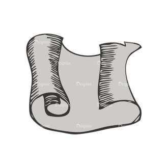 Scrolls Pack 5 22 Clip Art - SVG & PNG vector