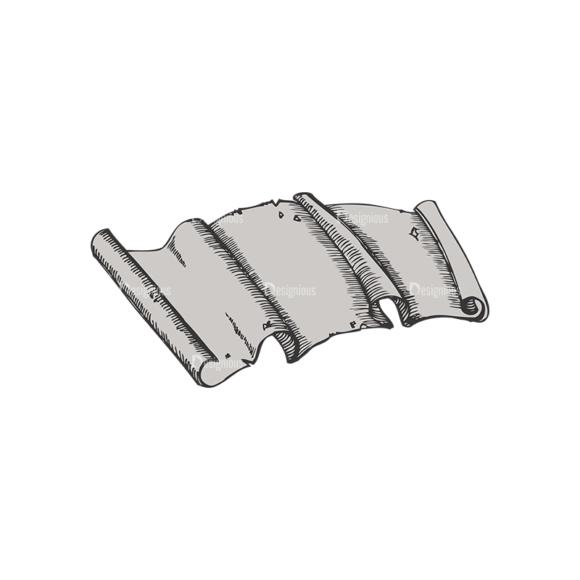Scrolls Pack 5 6 Clip Art - SVG & PNG vector
