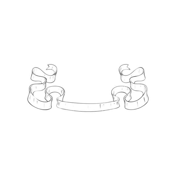 Scrolls Pack 8 10 Clip Art - SVG & PNG vector