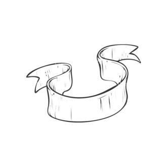 Scrolls Pack 8 3 Clip Art - SVG & PNG vector