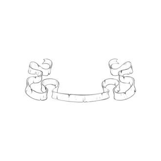 Scrolls Pack 9 18 Clip Art - SVG & PNG vector