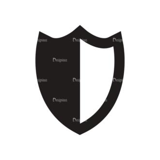 Security Logos Vector 2 Vector Shield Clip Art - SVG & PNG vector