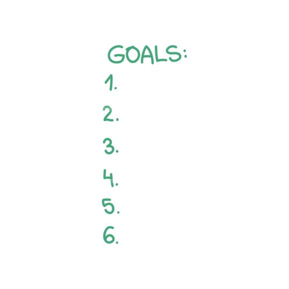 Set Goals Vector Set 1 Vector Goals List 02 set goals vector set 1 vector Goals List 02