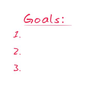 Set Goals Vector Set 1 Vector Goals List 03 Clip Art - SVG & PNG vector