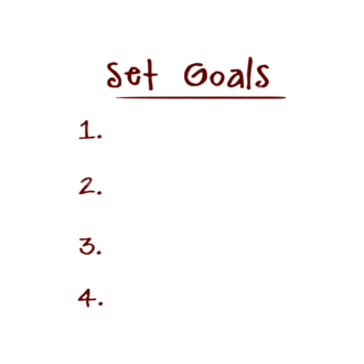 Set Goals Vector Set 1 Vector Goals List 05 Clip Art - SVG & PNG vector
