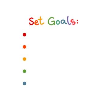 Set Goals Vector Set 1 Vector Goals List 06 Clip Art - SVG & PNG vector