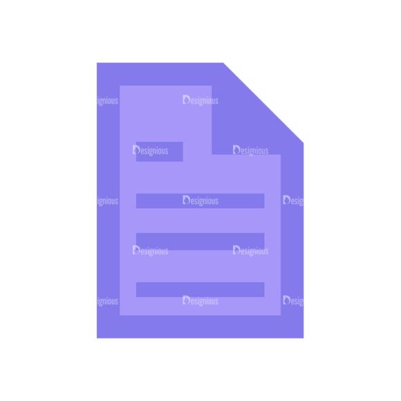 Shopping Flat Vector Set 1 Vector Documents Clip Art - SVG & PNG vector