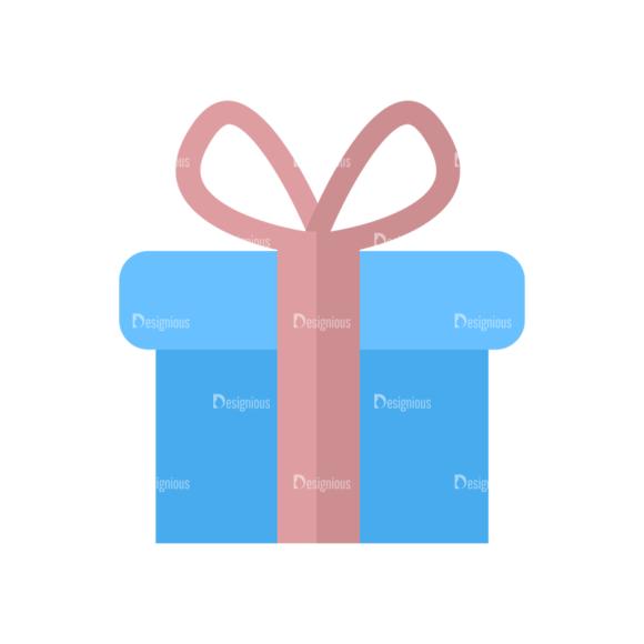 Shopping Flat Vector Set 1 Vector Gift Clip Art - SVG & PNG vector