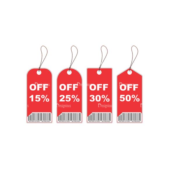 Shopping Tags Vector 1 10 Clip Art - SVG & PNG vector
