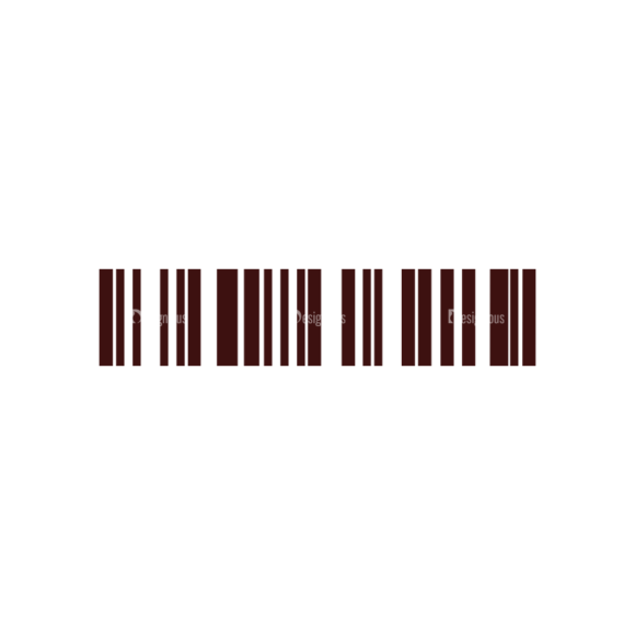 Shopping Vector Elements Set 1 Vector Barcode Clip Art - SVG & PNG vector