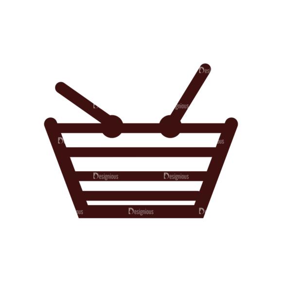 Shopping Vector Elements Set 1 Vector Basket shopping vector elements set 1 vector basket