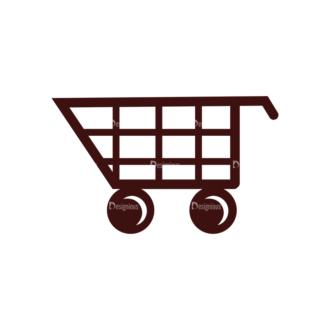 Shopping Vector Elements Set 1 Vector Cart Clip Art - SVG & PNG vector
