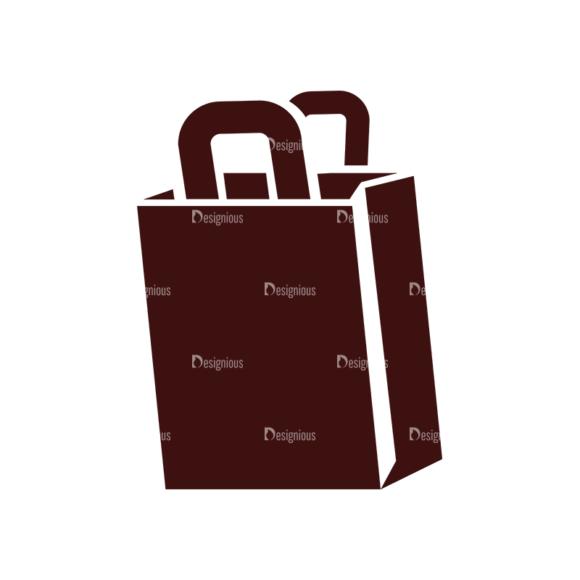 Shopping Vector Elements Set 1 Vector Shopping Bag Clip Art - SVG & PNG vector