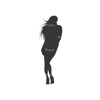 Silhouettes Pack 1 17 Preview Clip Art - SVG & PNG vector