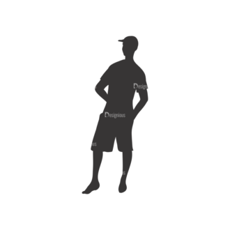 Silhouettes Pack 1 18 Preview Clip Art - SVG & PNG vector