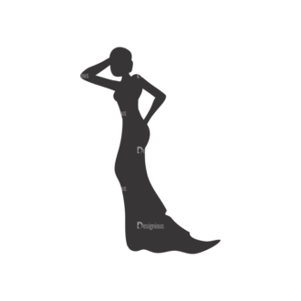 Silhouettes Pack 1 19 Preview Clip Art - SVG & PNG vector