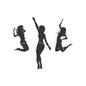 Silhouettes Pack 1 20 Preview Clip Art - SVG & PNG vector