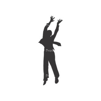 Silhouettes Pack 2 13 Preview Clip Art - SVG & PNG vector