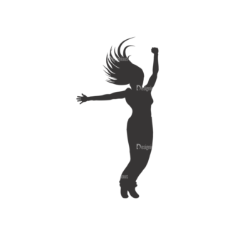 Silhouettes Pack 2 14 Preview Clip Art - SVG & PNG vector