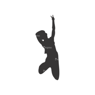 Silhouettes Pack 2 16 Preview Clip Art - SVG & PNG vector