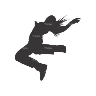 Silhouettes Pack 2 2 Preview Clip Art - SVG & PNG vector