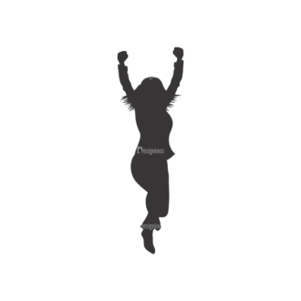 Silhouettes Pack 2 37 Preview Clip Art - SVG & PNG vector