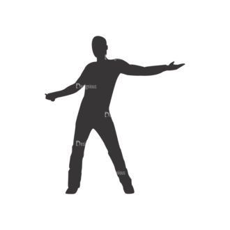 Silhouettes Pack 2 47 Preview Clip Art - SVG & PNG vector