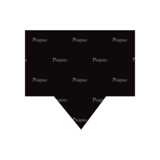 Simple Flat Symbols Set 1 Vector Speech Bubble 02 Clip Art - SVG & PNG vector