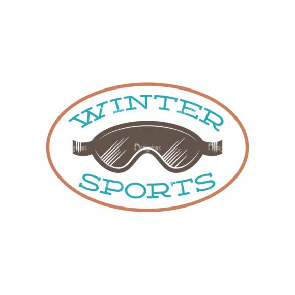 Skiing Vector Set 2 Vector Logo 01 5