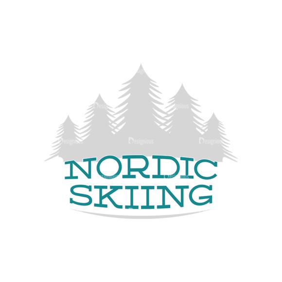 Skiing Vector Set 2 Vector Logo 03 Clip Art - SVG & PNG vector