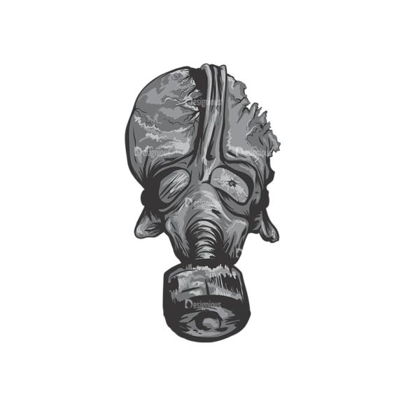Skull Vector Clipart 1-1 skulls pack 1 1 preview