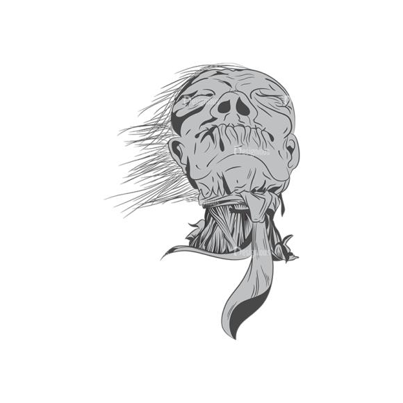 Skull Vector Clipart 1-11 Clip Art - SVG & PNG vector