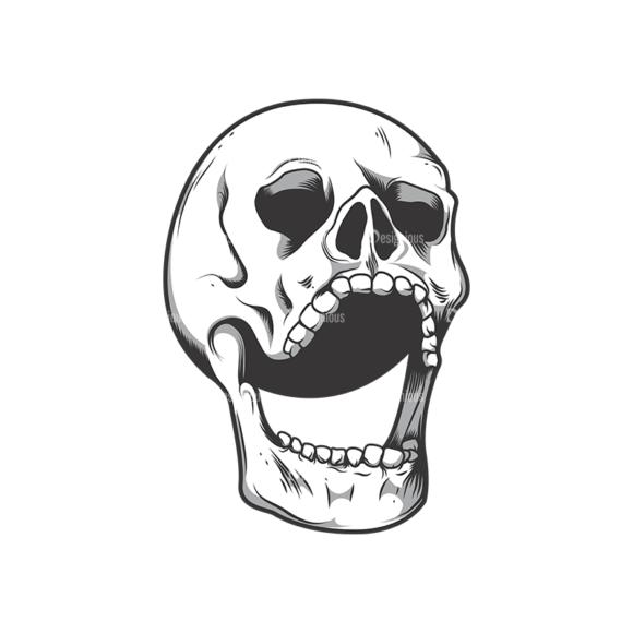 Skull Vector Clipart 10-2 Clip Art - SVG & PNG vector