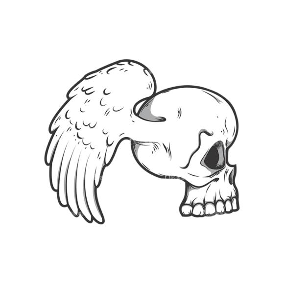 Skull Vector Clipart 11-2 skulls pack 11 2 preview